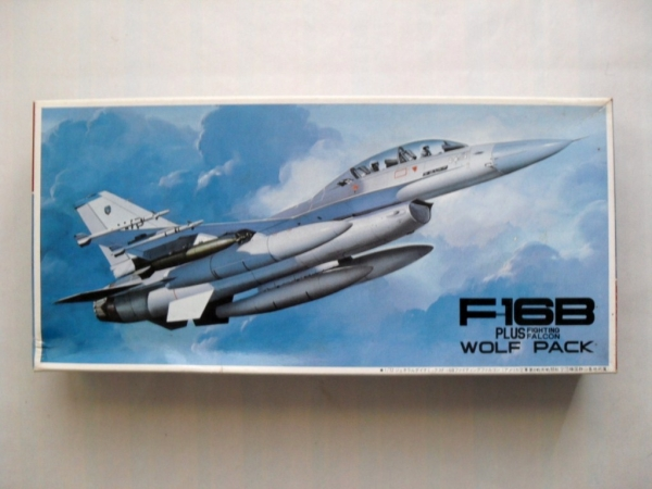 7AE5 F-16B PLUS FIGHTING FALCON WOLF PACK