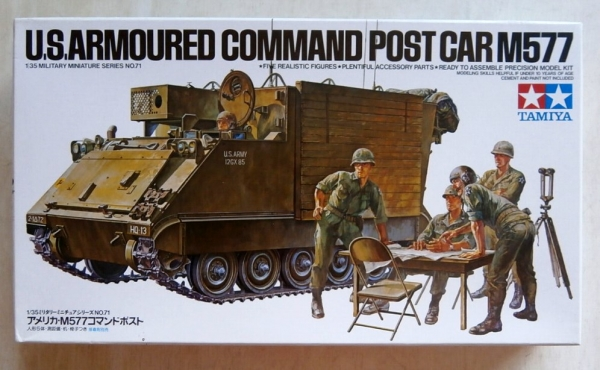 35071 M577 ARMOURED COMMAND POST
