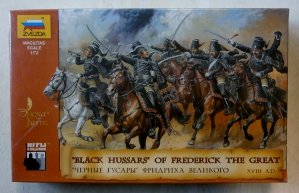 8079 BLACK HUSSARS OF FREDERICK THE GREAT XVIII AD
