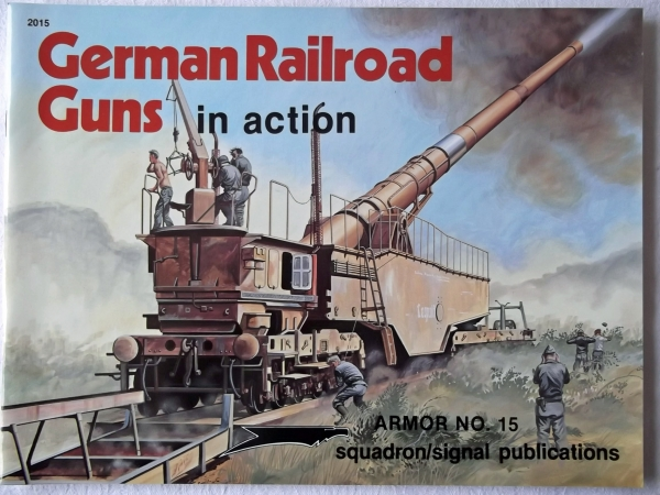 2015. GERMAN RAILROAD GUNS