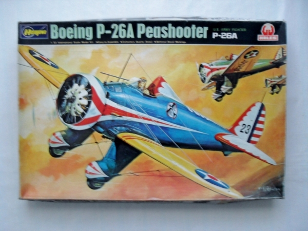 S8 BOEING P-26A PEASHOOTER