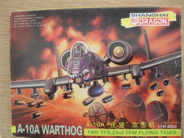 4548 A-10A WARTHOG 74th TFS 23rd TFW FLYING TIGER