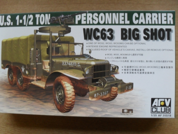 35S18 WC63 BIG SHOT 6x6 PERSONNEL CARRIER