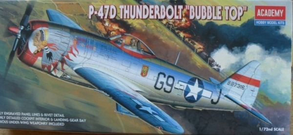 2174 P-47D THUNDERBOLT BUBBLE TOP