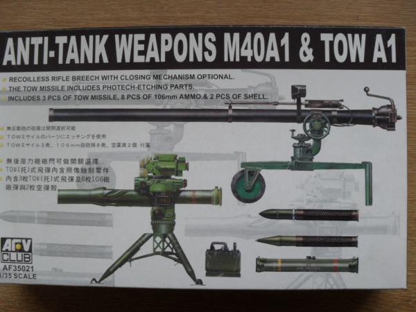 35021 ANTI-TANK WEAPONS M40A1   TOW A1