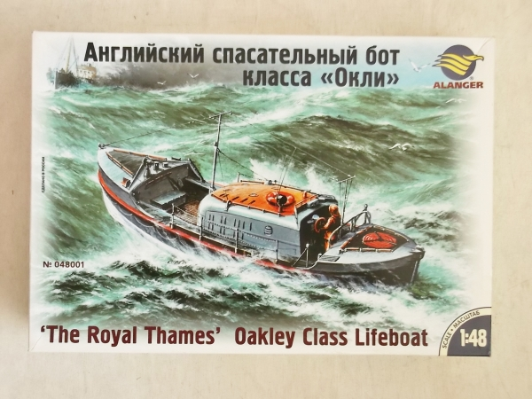 48001 ROYAL THAMES OAKLEY CLASS LIFEBOAT