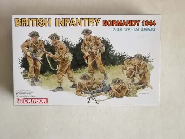 6212 BRITISH INFANTRY NORMANDY 1944