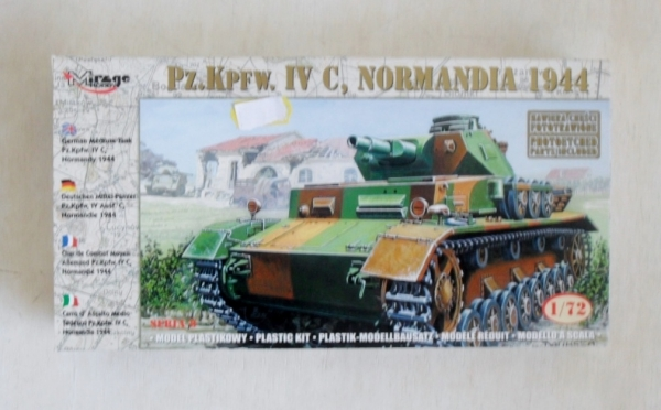 72853 Pz.Kpfw IV C NORMANDY 1944