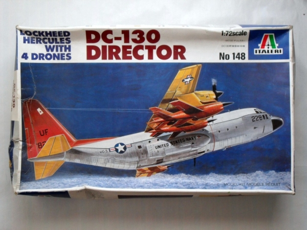 148 LOCKHEED HERCULES DC-130 DIRECTOR WITH DRONES