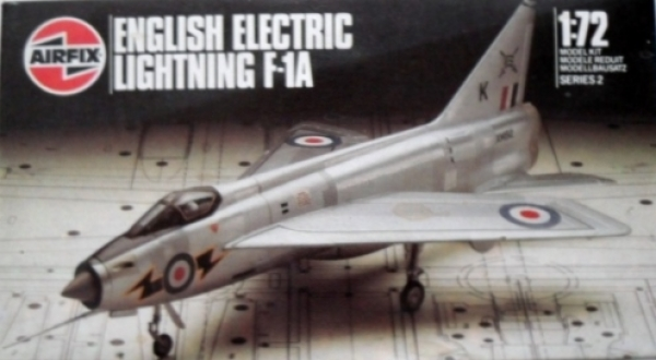 02068 ENGLISH ELECTRIC LIGHTNING F-1A