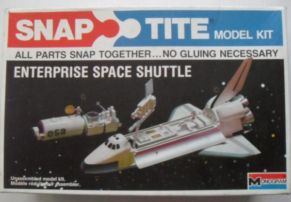 1014 ENTERPRISE SPACE SHUTTLE