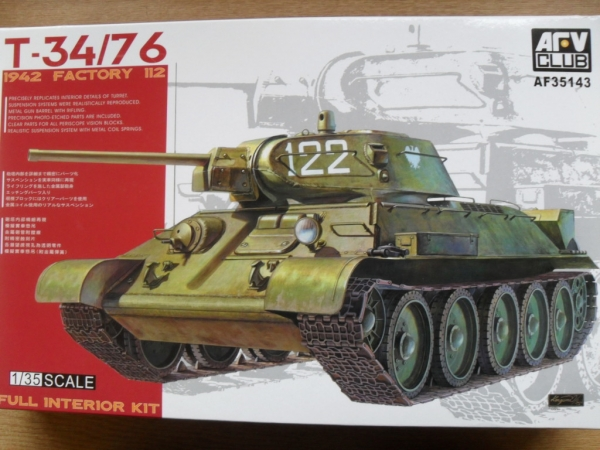 35143 T-34/76 1942 FACTORY 112