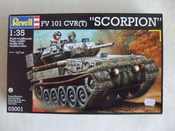 revell 1 35  REVELL 1/35 03001 FV 101 CVR(T) SCORPION Military Model Kit