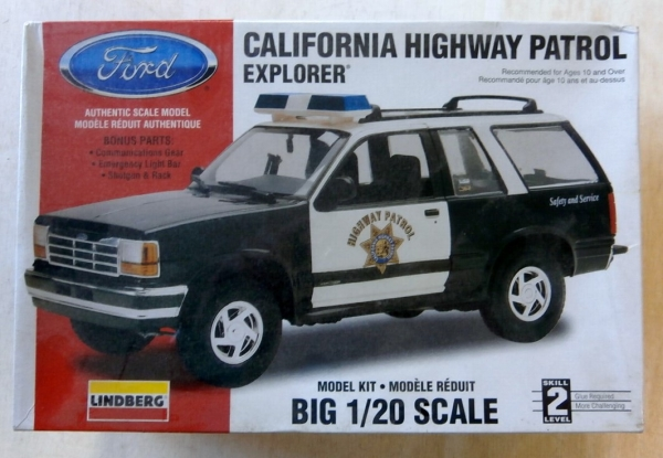 72586 CALIFORNIAN HIGHWAY PATROL EXPLORER