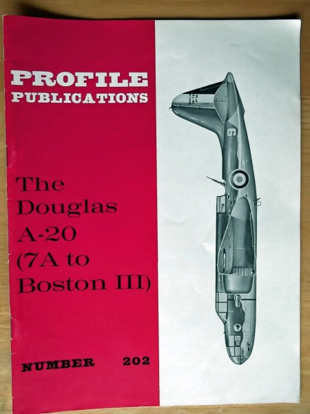 202.DOUGLAS A-20 7A TO BOSTON III