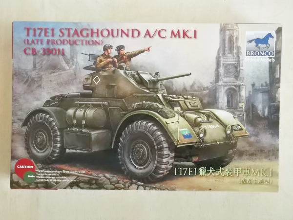 35011 T17E1 STAGHOUND Mk.I