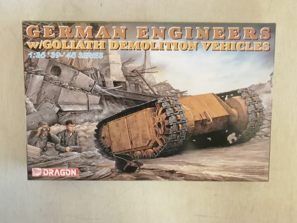 6103 GERMAN ENGINEERS WITH GOLIATH DEMOLITION VEHICLE