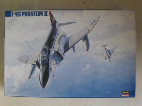 HASEGAWA 1/72 KA2 F-4S PHANTOM II Model Kit