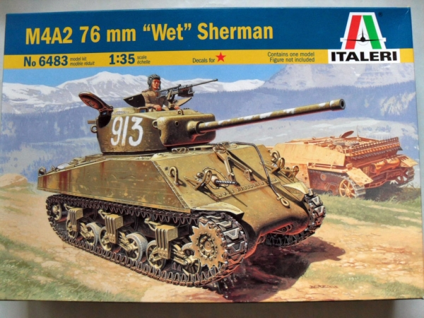 6483 M4A2 76mm WET SHERMAN