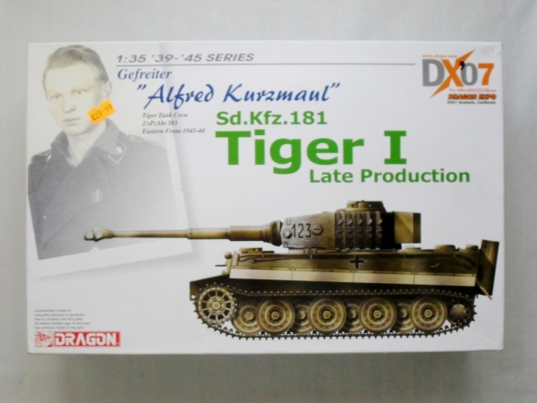 6416 TIGER I LATE PRODUCTION KURZMAUL
