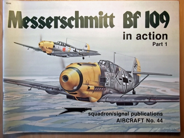 1044. MESSERSCHMITT Bf 109 PART 1