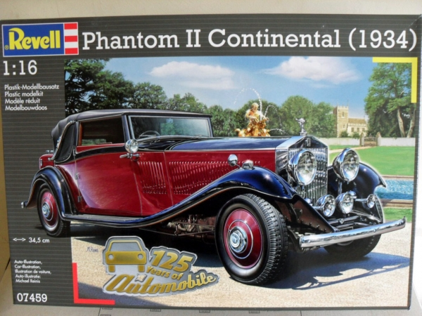 07459 PHANTOM II CONTINENTAL 1934