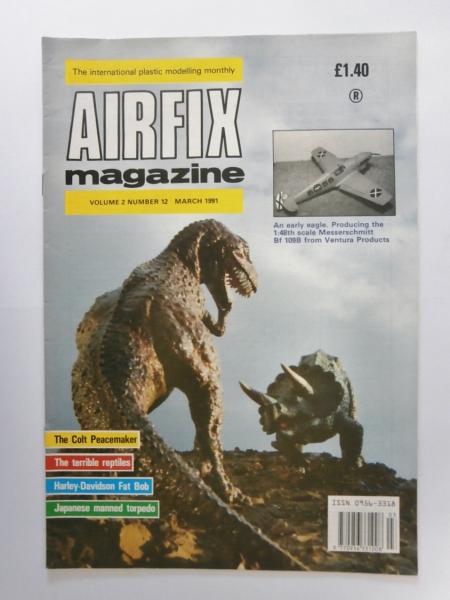 AIRFIX AIRFIX MAGAZINE VOLUME 02 NUMBER 12 MARCH 1991 Book
