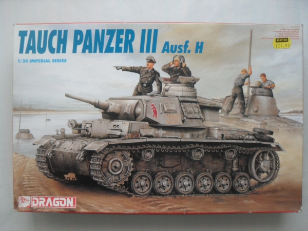9033 TAUCH PANZER III Ausf.H
