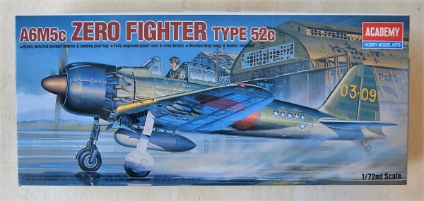 12493 A6M5c ZERO FIGHTER TYPE 52C