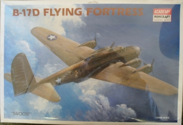 1683 B-17D SWOOSE FLYING FORTRESS