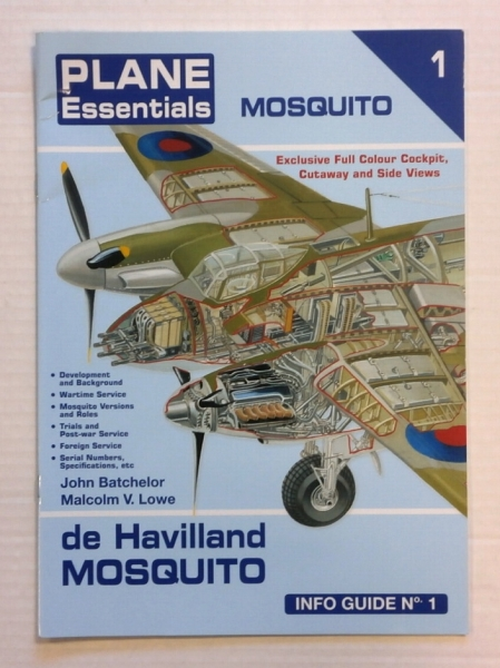 ZB716 PLANE ESSENTIALS DE HAVILLAND MOSQUITO