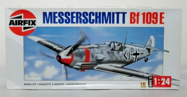 12002 MESSERSCHMITT Bf 109E  UK SALE ONLY