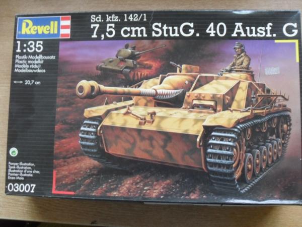 revell 1 35  REVELL 1/35 03007 Sd.Kfz 142/1 7.5cm StuG 40 Ausf.G Military Model Kit