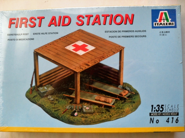 416 FIRST AID POST