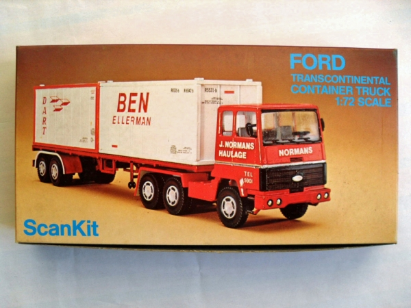 2002 FORD TRANSCONTINENTAL CONTAINER TRUCK