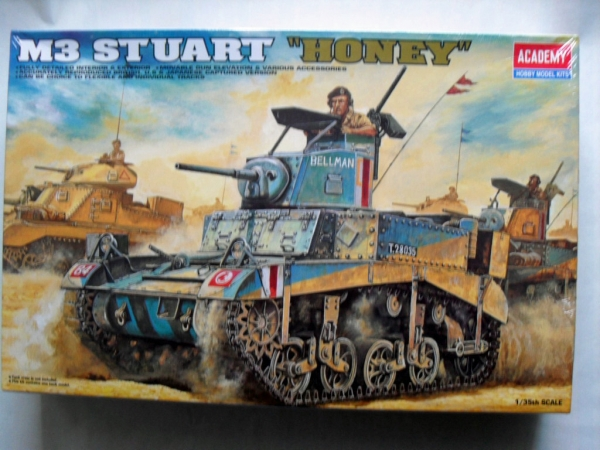 1399 BRITISH M3 STUART/HONEY