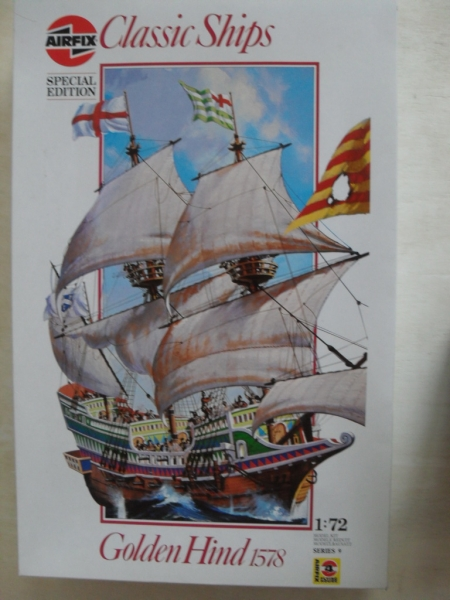 09258 GOLDEN HIND 1578