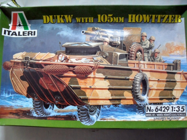 6429 DUKW   105mm HOWITZER