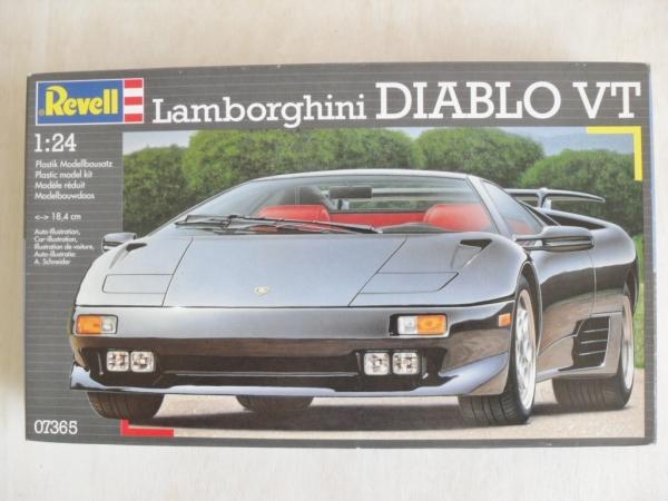 Revell 1 24 07365 Lamborghini Diablo Vt Model Kit