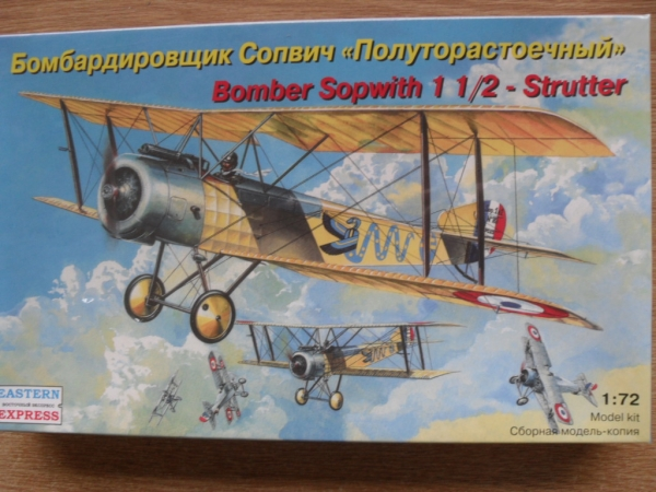 72158 SOPWITH 1 AND HALF STRUTTER BOMBER