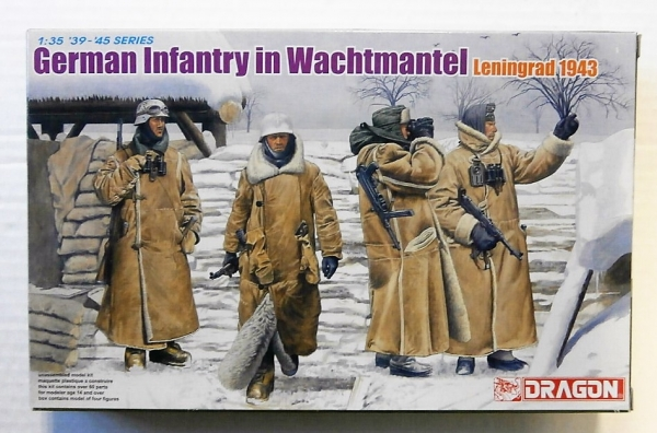 6518 GERMAN INFANTRY IN WACHTMANTEL LENINGRAD 1943