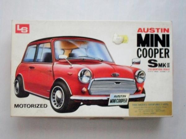 Ls 120 C528 Austin Mini Cooper S Mkii Model Kit