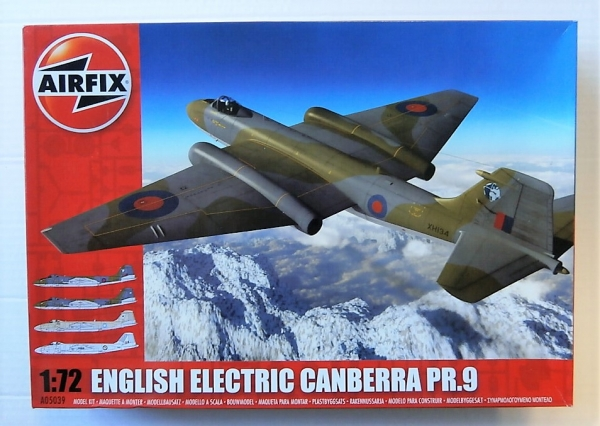 05039 ENGLISH ELECTRIC CANBERRA PR.9