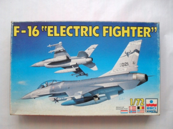 9091 F-16 ELECTRIC FIGHTER