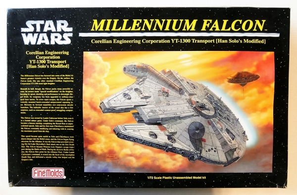 SW-6 STAR WARS MILLENIUM FALCON  UK SALE ONLY