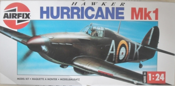 14002 HAWKER HURRICANE Mk.I  UK SALE ONLY