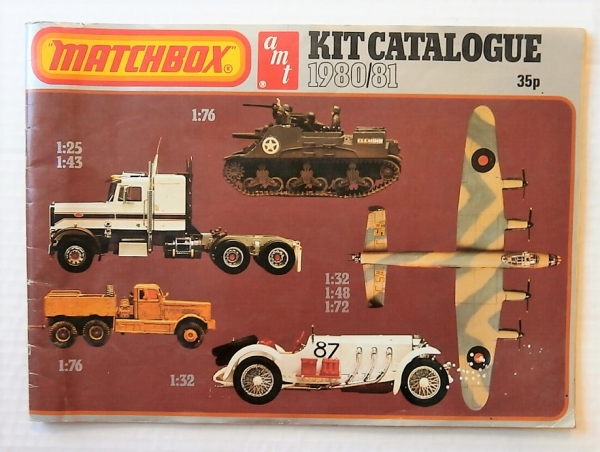 MATCHBOX AMT 1980/81 KIT CATALOGUE