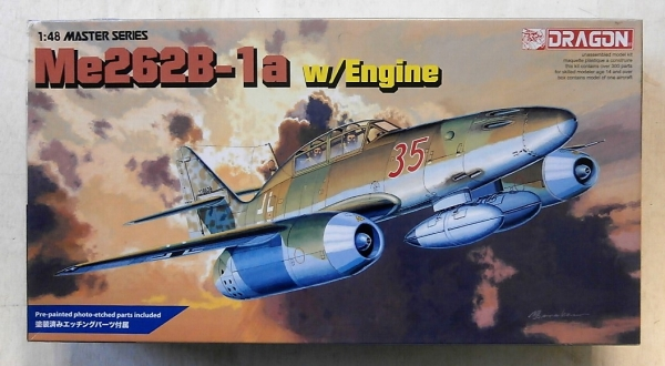 5512 MESSERSCHMITT Me 262B-1a w/ ENGINE