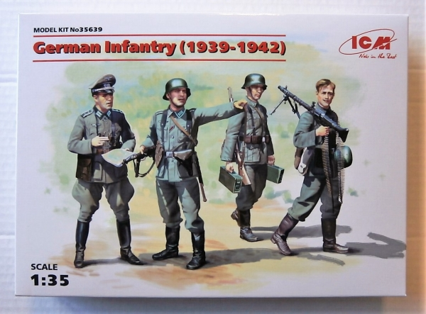 35639 GERMAN INFANTRY  1939-1942