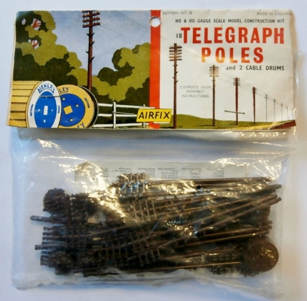 18 TELEGRAPH POLES  TYPE II BAG